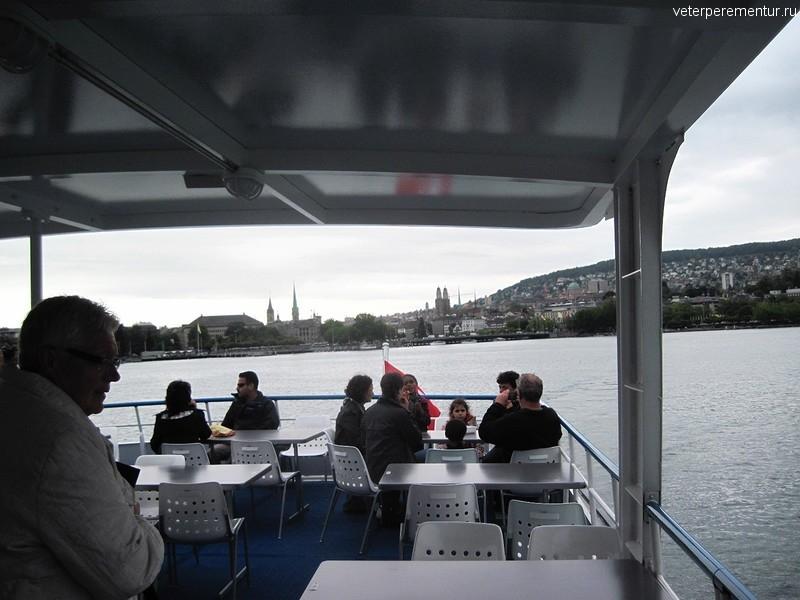 Круиз по Женевскому озеру, Швейцария