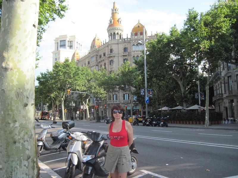 На улицах Барселоны