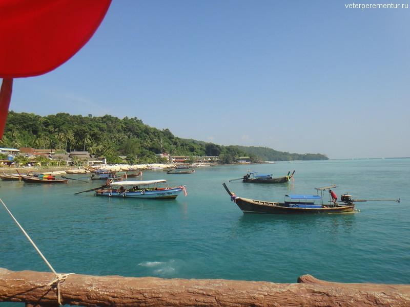 Пристань на Пи Пи, Таиланд