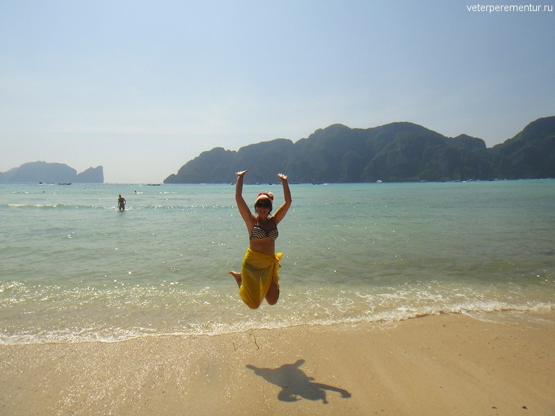 Пляж на Пи Пи, Таиланд