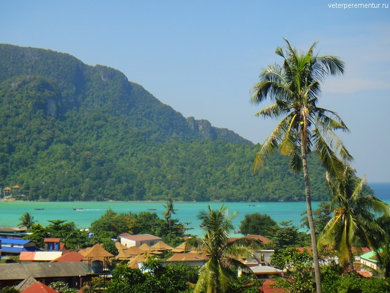 Виды на море, Пи Пи, Таиланд