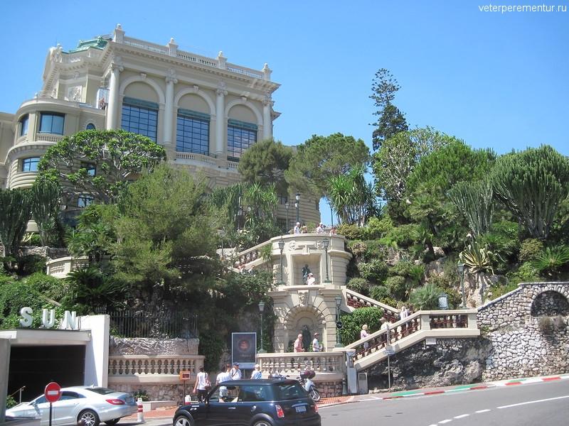 Монако, участок трассы формулы -1
