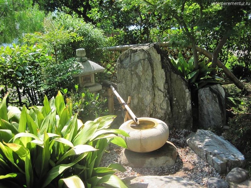 Японский сад в Монако