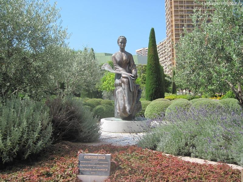 Памятник принцессе Грейс