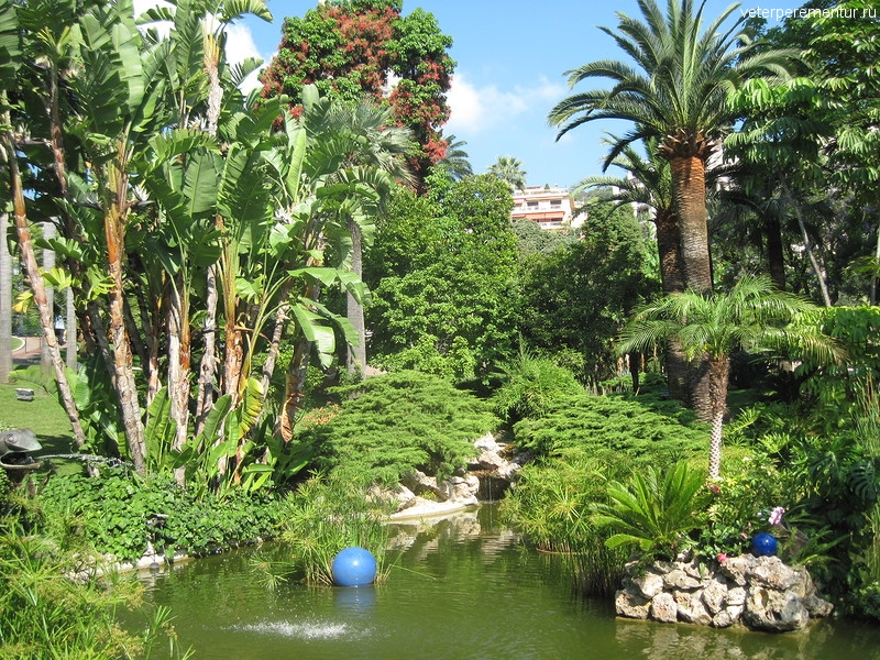 Парк в Монако