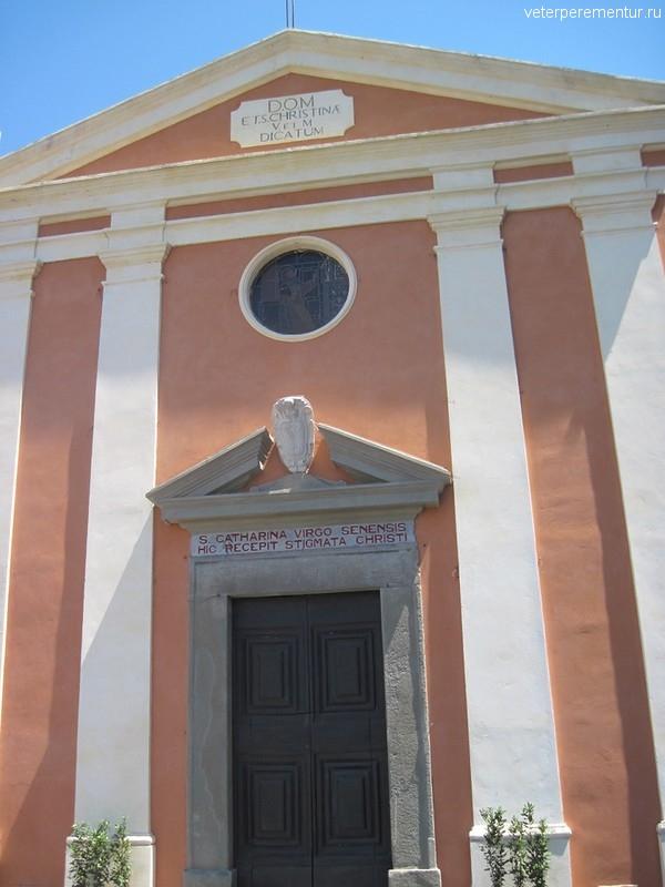 La chiesa di Santa Cristina, Пиза