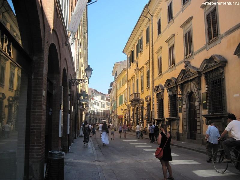 Улицы Пизы, Италия