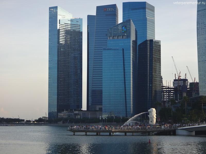 Merlion, Сингапур
