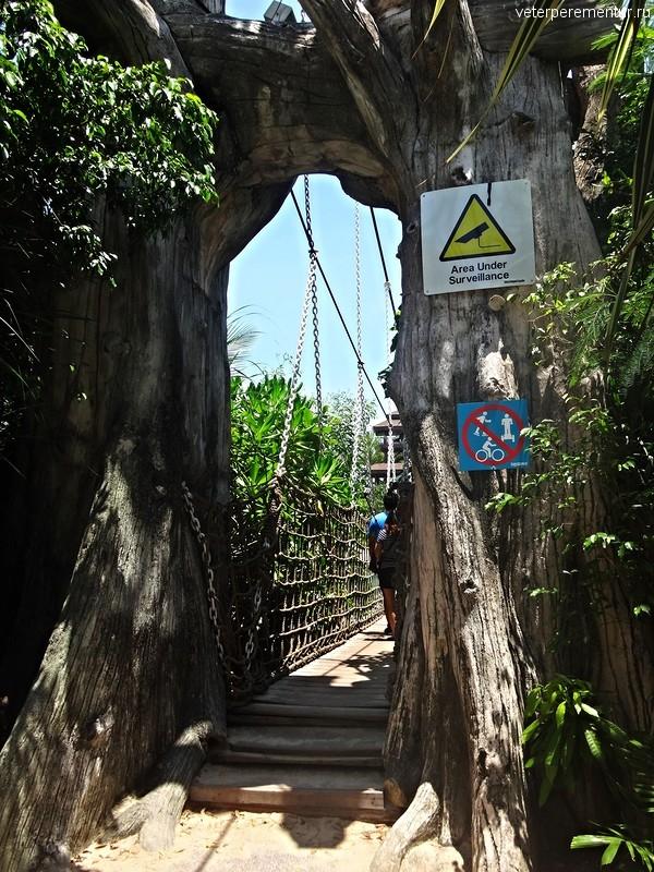 Мост к самой южной точке континентальной Азии, Сентоза