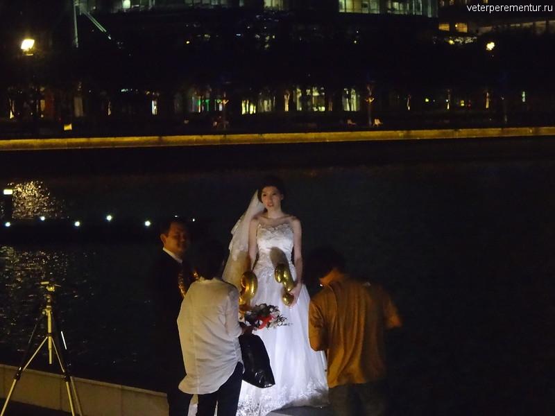 Свадебная фотосессия в Сингапуре