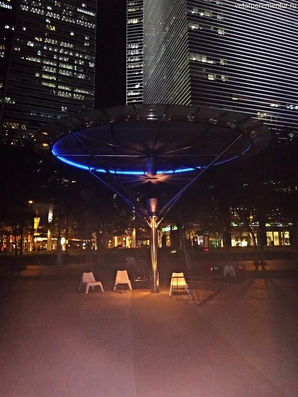 Уличный вентилятор, Сингапур