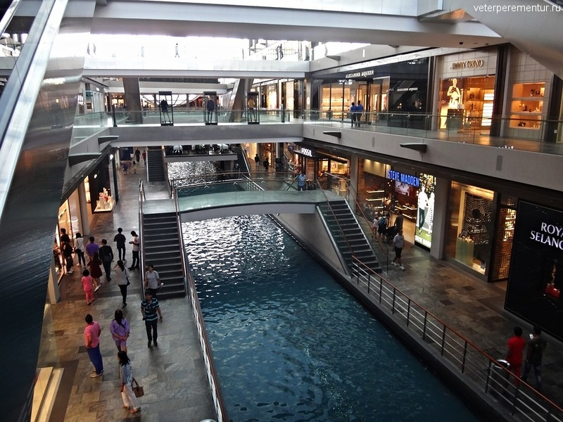 Торговый комплекс Marina Bay Sands