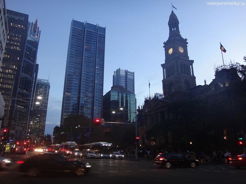 Вечерний Сидней