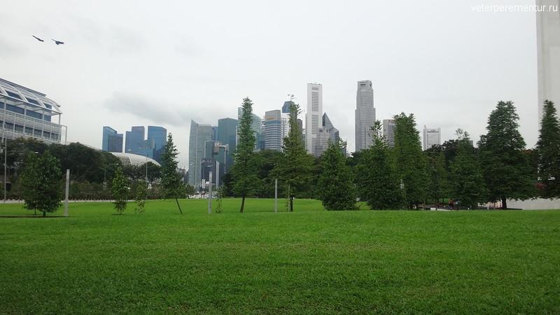 Зеленые насаждения в Сингапуре