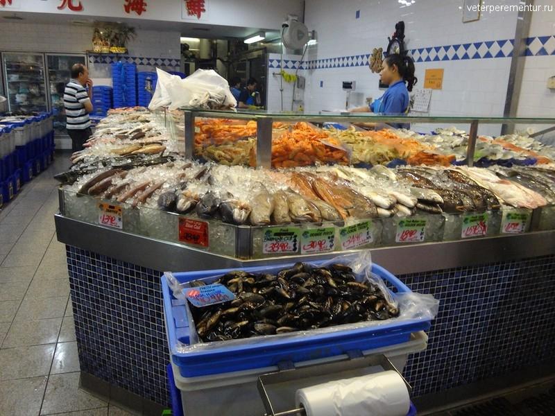 Рыбный магазин в Сиднее