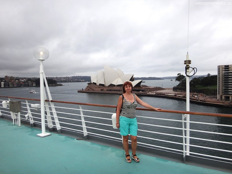Rhapsody of the Seas в Сиднее