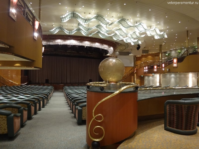 Rhapsody of the Seas, театр