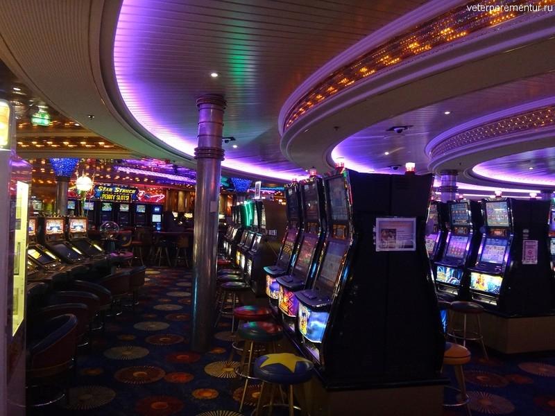 Rhapsody of the Seas, казино