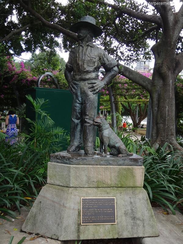 Брисбен (Brisbane), скульптура