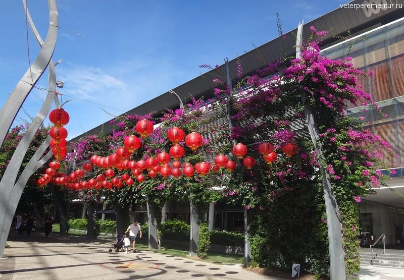 Брисбен (Brisbane), китайские фонарики