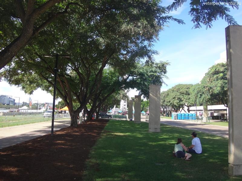 Брисбен (Brisbane), набережная