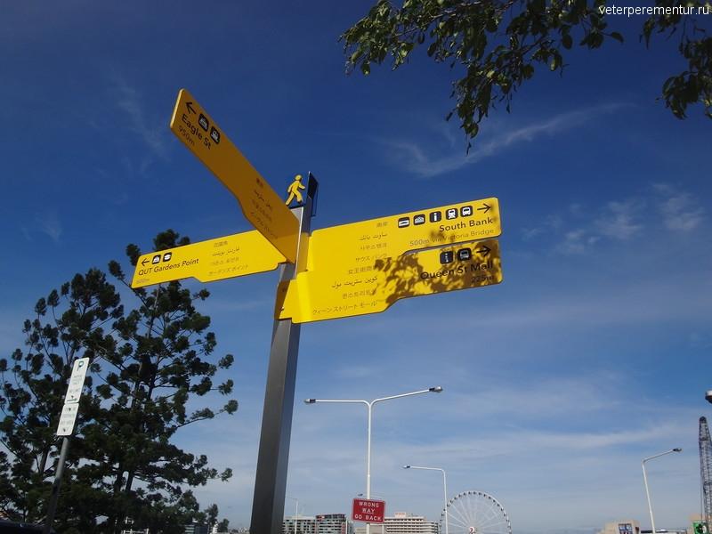 Брисбен (Brisbane), указатель