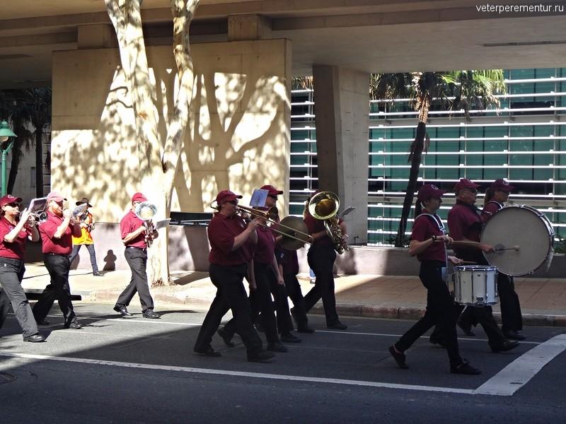 Брисбен (Brisbane), духовой оркестр