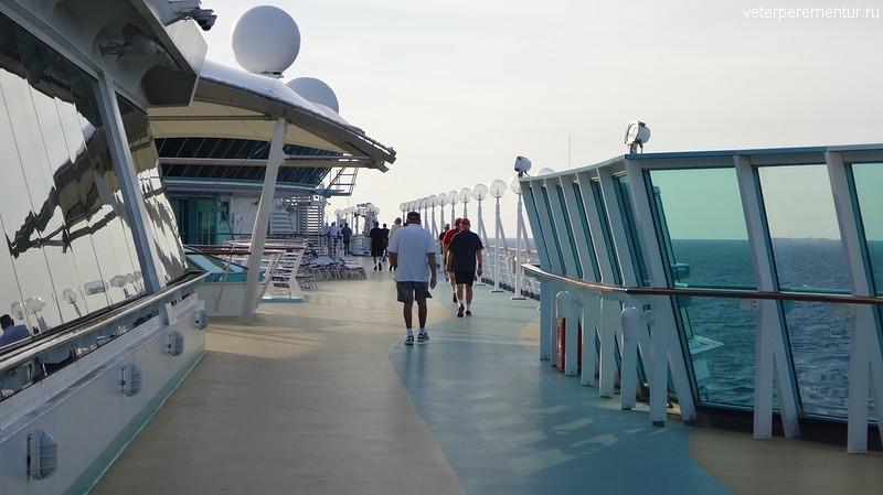 Rhapsody of the Seas, беговая дорожка