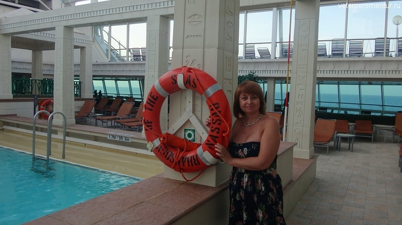 Rhapsody of the Seas, интерьеры
