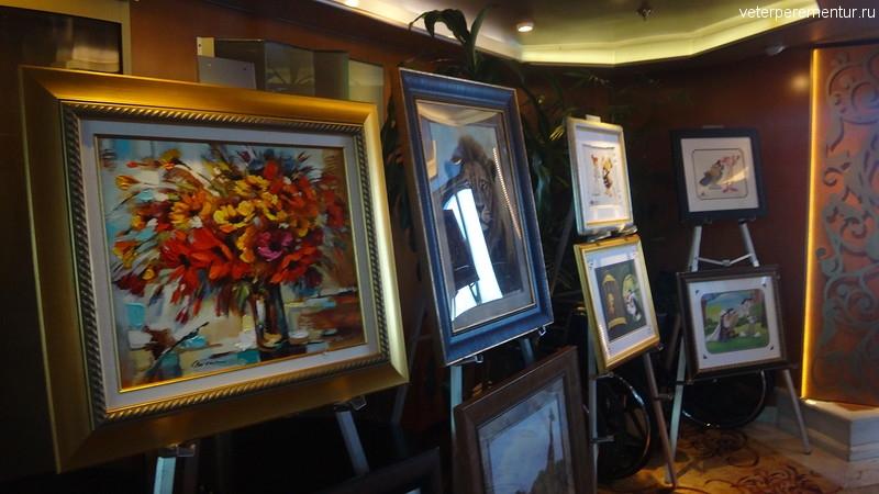 Rhapsody of the Seas, картинная галерея