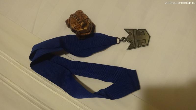 Rhapsody of the Seas, медаль за соревнования по мини-гольфу