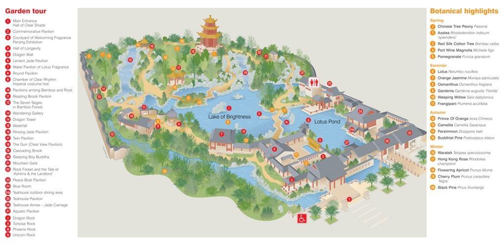 Китайский сад, Сидней