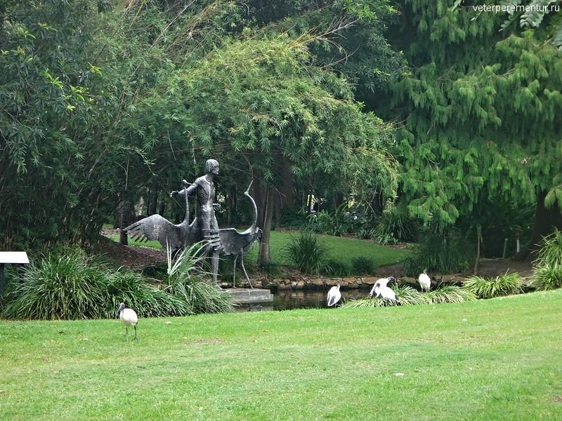 Брисбен, ботанический сад