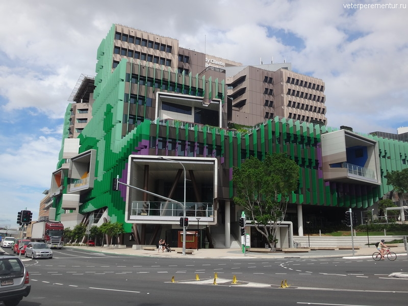 The Lady Cilento Children's Hospital, Брисбен (Brisbane)