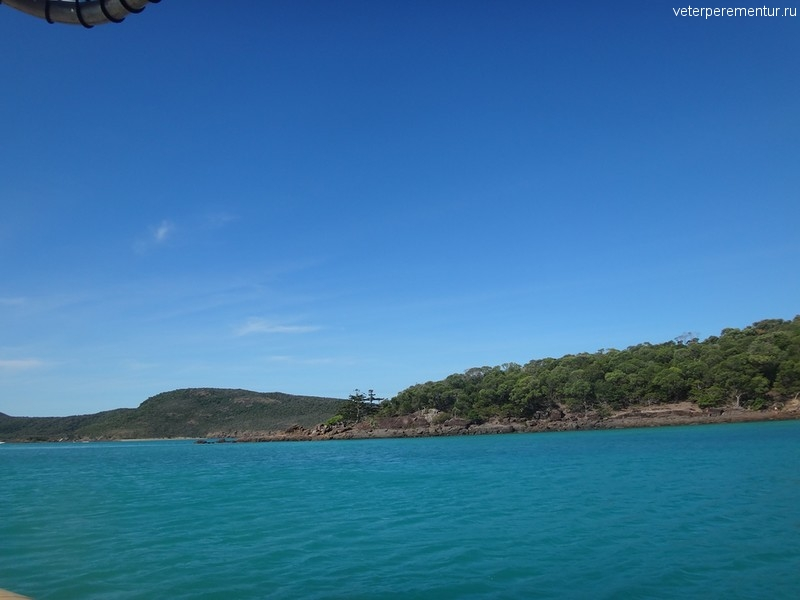 национальный парк Whitsunday Islands