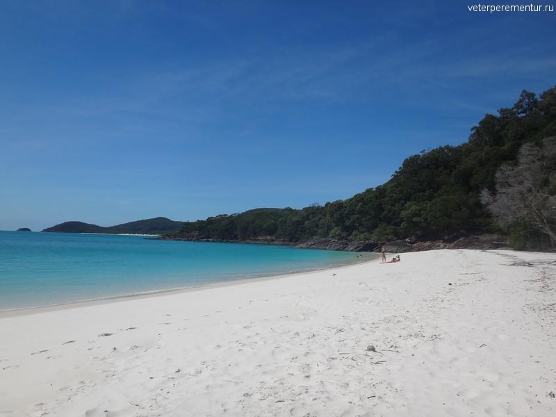 пляж, национальный парк Whitsunday Islands