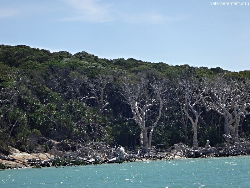 национальный парк Whitsunday Islands