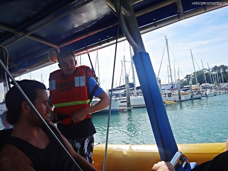 Эрли бич, экскурсия к рифу