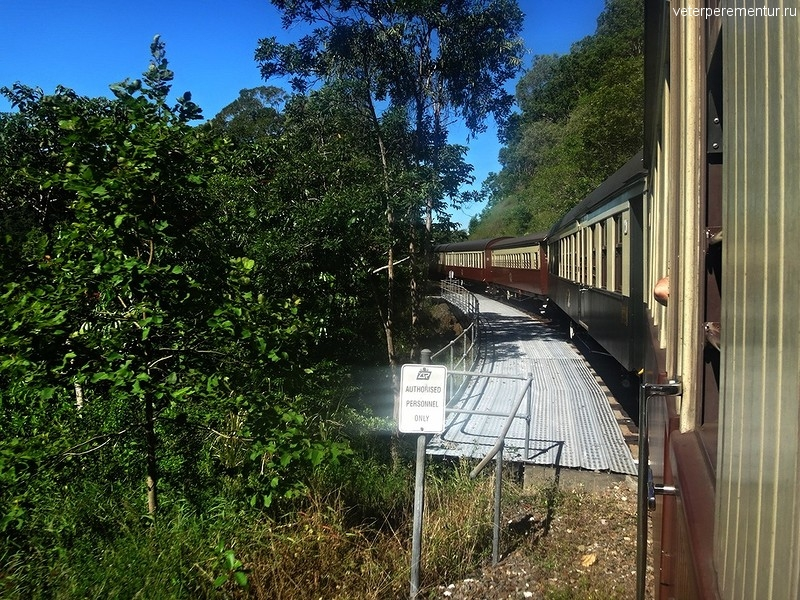 Scenic Railway, дорога в Куранду