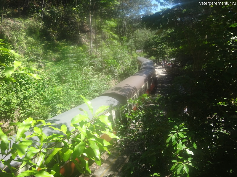 Scenic Railway, станция Barron Falls