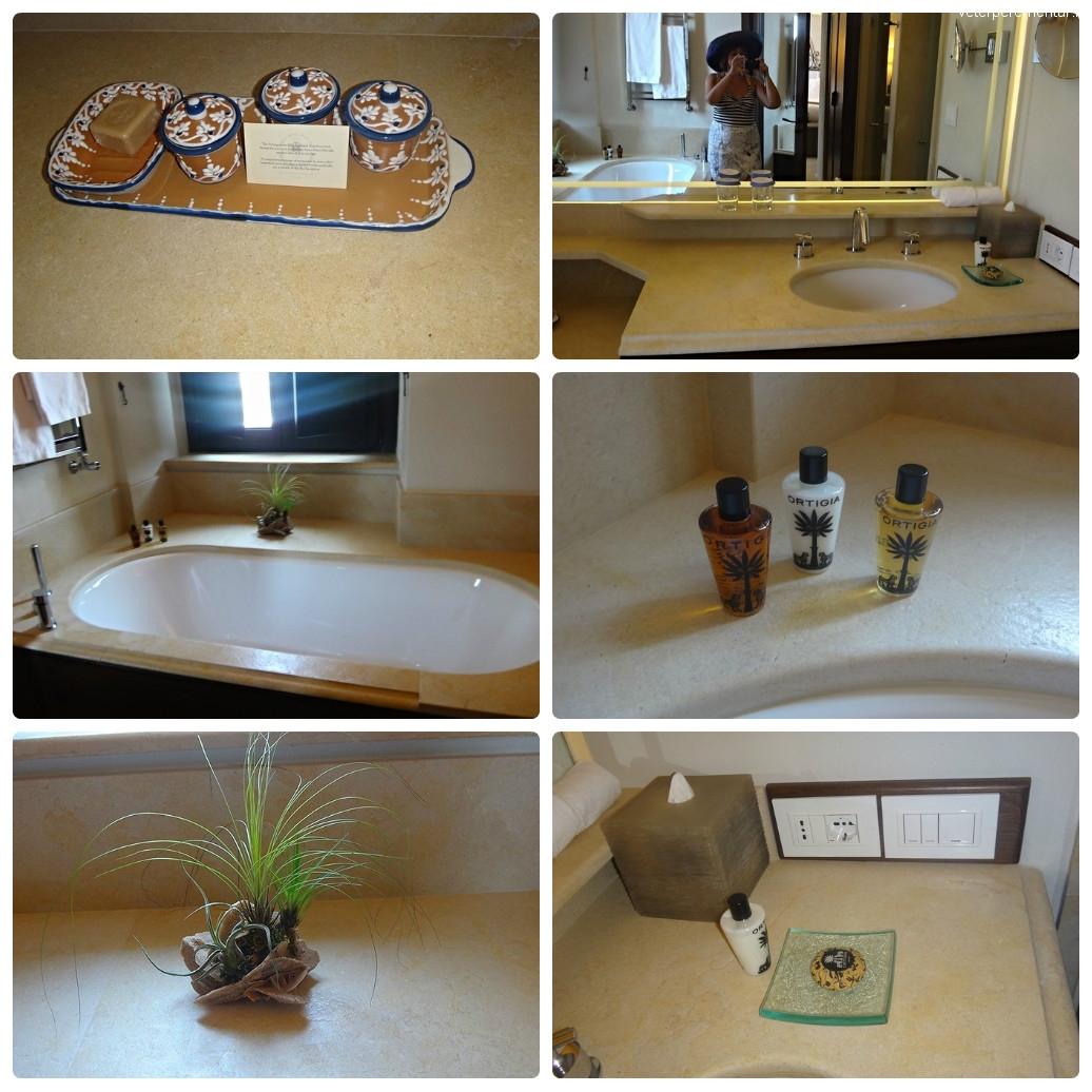 Monastero Santa Rosa, ванная комната