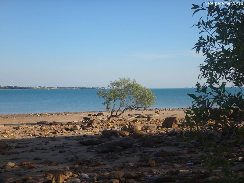 Берег моря, Дарвин, Австралия