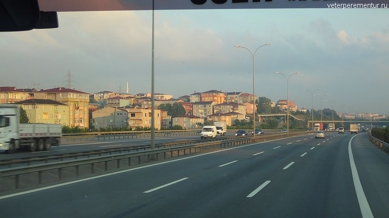 Раннее утро в Стамбуле