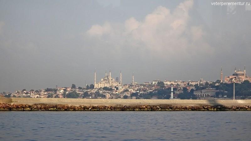 Переправа на пароме через Босфор