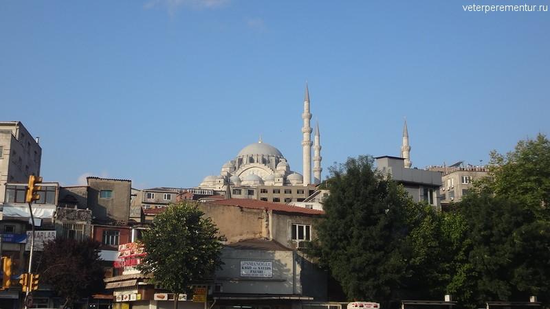 Утро в Стамбуле