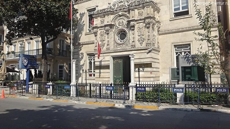 Отделение полиции в Стамбуле
