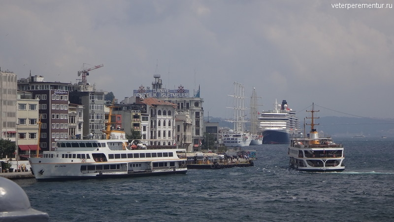 Queen Victoria, Стамбул