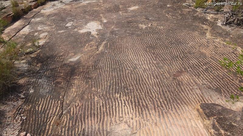 выход скал которые были когда-то дном древнего моря, это Палеоархейская эра, возраст 3.5-4 млрд лет, Австралия