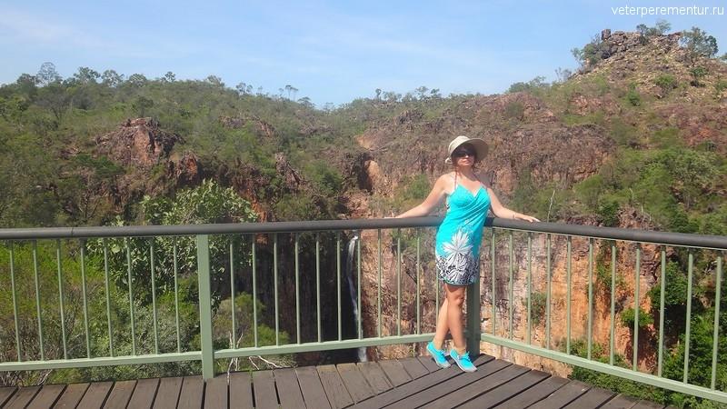 Водопад в парке Личфилд, Австралия