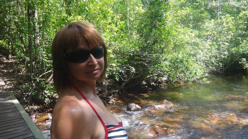 Река в парке Личфилд, Австралия